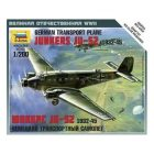 ZVEZDA Junkers Ju-52 Transport Plane [ZVZ6139]
