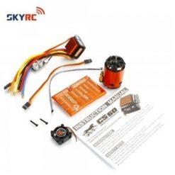 SKY-RC combo set 13.5T 2590KV incl.prog kaart [SK300058-03]