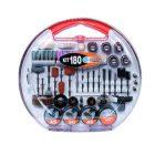 PG Tools Assortiment machine gereedschap 180 delig [SEC04-PG180A]