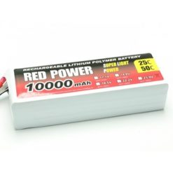 PICHLER LiPo Red Power 10000mAh- 22.2v.25 c [PIC9441]