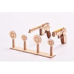 Wood Trick Set Pistolen (Gun) [WTR010/21]