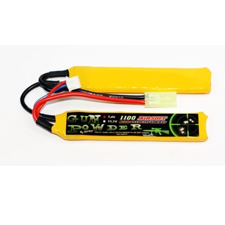 MHD LIPO ACCU airsoft 7.4 V 1100mA 2 sticks [MHDZ03L9112012]