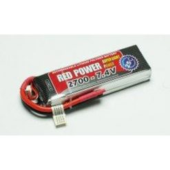 RED POWER Lipo 2700mAh7.4V [PIC9411]