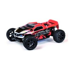 T2M Pirate Boomer 4wd RC 1/10 buggy met 2.4GHz RC verbrand. [T4932]
