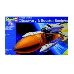 REVELL 1:144 Space Shuttle Discovery & Booster rockerts [REV04736]